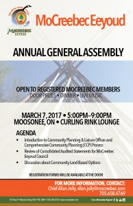 MOCREEBEC EEYOUD ANNUAL GENERAL ASSEMBLY
