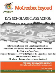 Day Scholar Information / Update Session